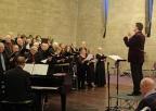 Mark Anyan conducting our seasonal music