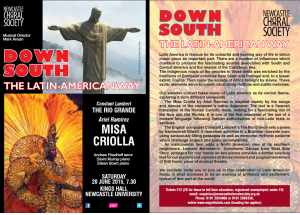 """Down South"" - Latin American concert on 20 June 2015"