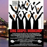 SING GOSPEL WORKSHOP